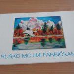 Rusko mojimi farbičkami