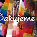 Poďakovanie – zbierka teplého oblečenia