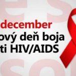 1. december –  Svetový deň boja proti AIDS